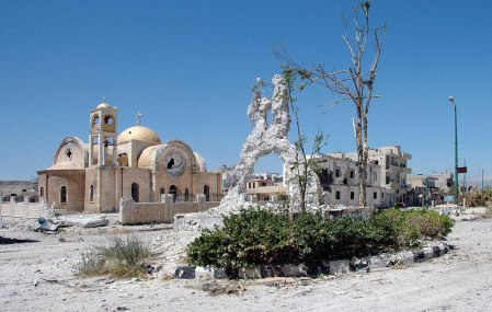 Syria church Qusayr