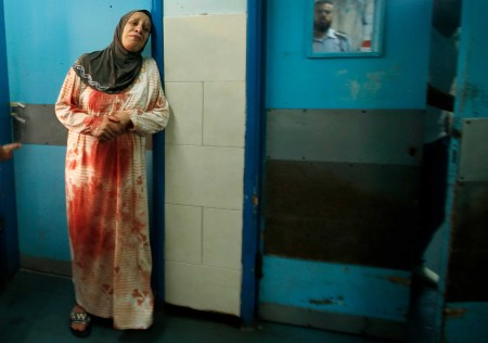 gaza woman morgue