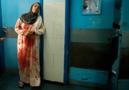 gaza woman morgue