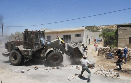 Israel bulldozer mosque