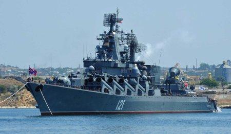navy cruiser Moskva
