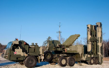 S-400.Triumf anti-aircraft
