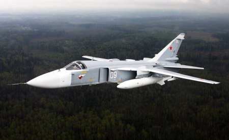 Turkey downs SU-24 b