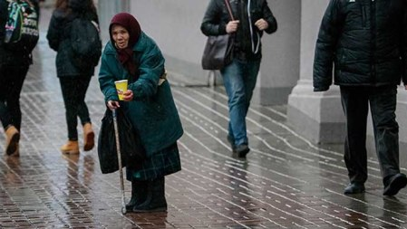 Ukraine poverty