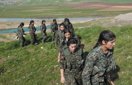 YPJ drills at Shilan Camp