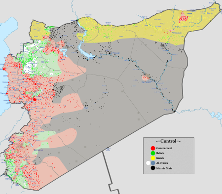 Syrian conflict 18 02 2016
