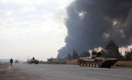 army tanks road