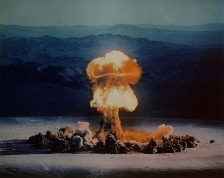 nuclear bomb explosion 2