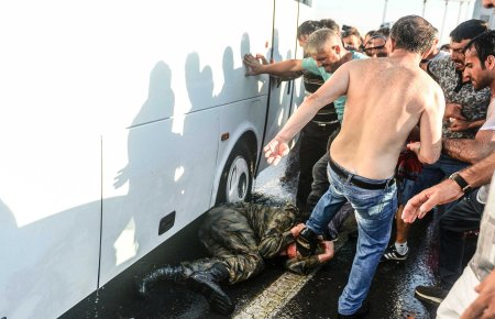 Turkey coup abused soldier