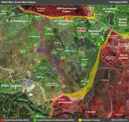southwest Aleppo offensive