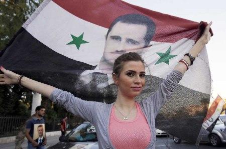 Assad supporter