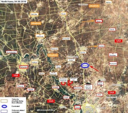 Hama offensive Jund al-Aqsa