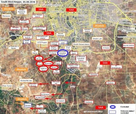 sw Aleppo 05 09 2016