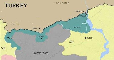 Turkish Syrian border 05 09 2016