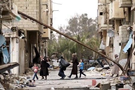 SYRIA-PALMYRA/PEOPLE RETURN